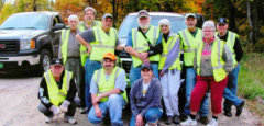 Members do Garbage Pick up & Trail Maintenance.